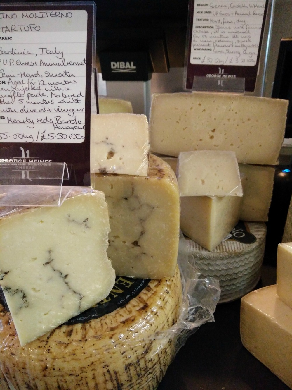 The Pecorino Tartufo is one of the current bestsellers.