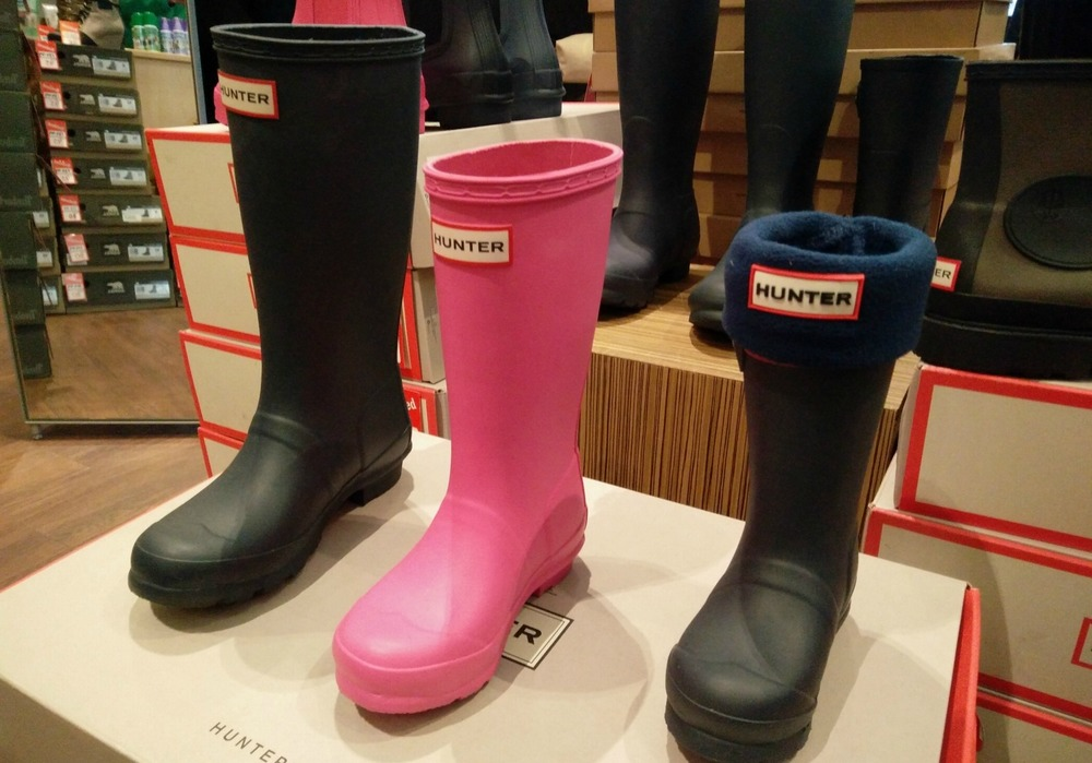 Wellies for the whole family