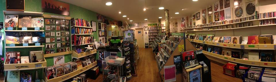The Oxfam music shop