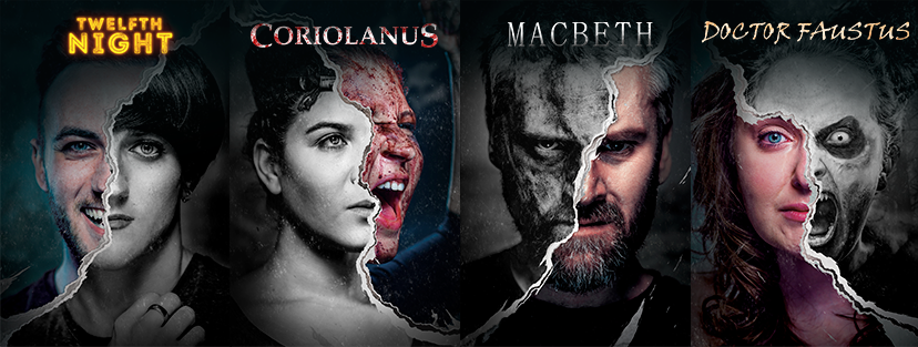 This year's line up: Twelfth Night, Coriolanus, Macbeth and Doctor Faustus