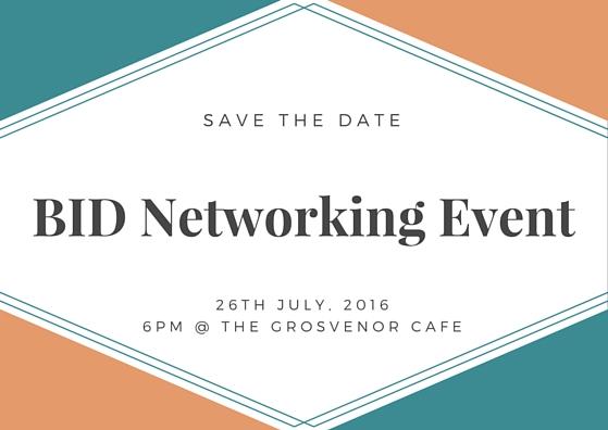 Networking event invite