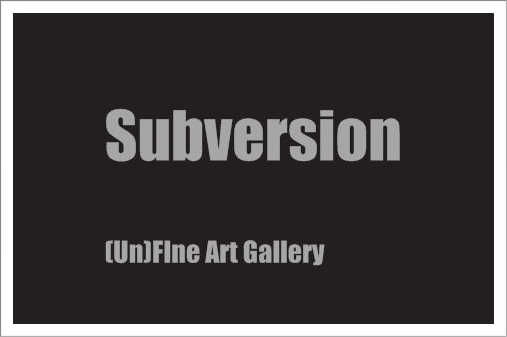 Subversion Art is part of the Ruthven Mews Arcade