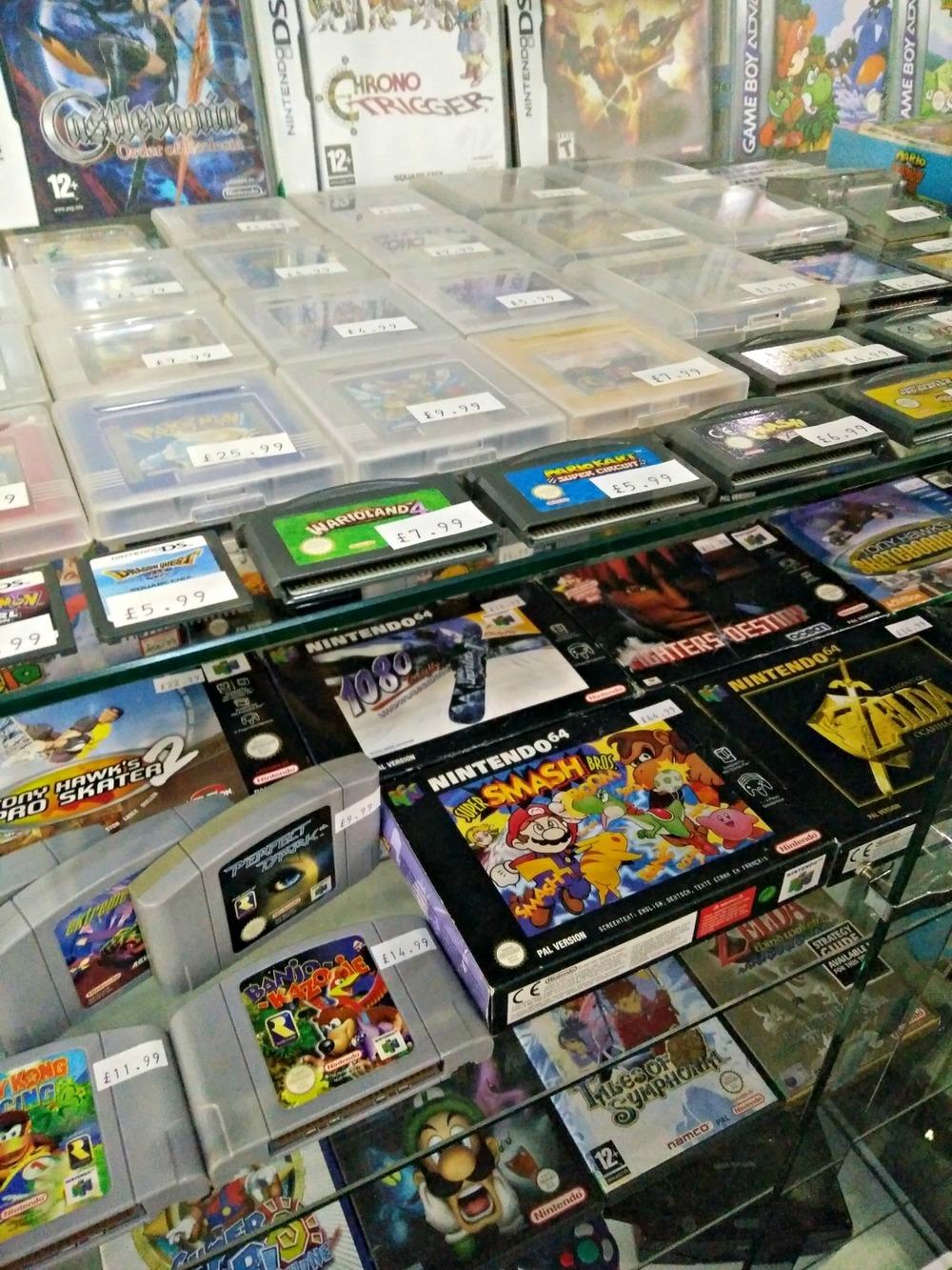 Retro games at Shmup