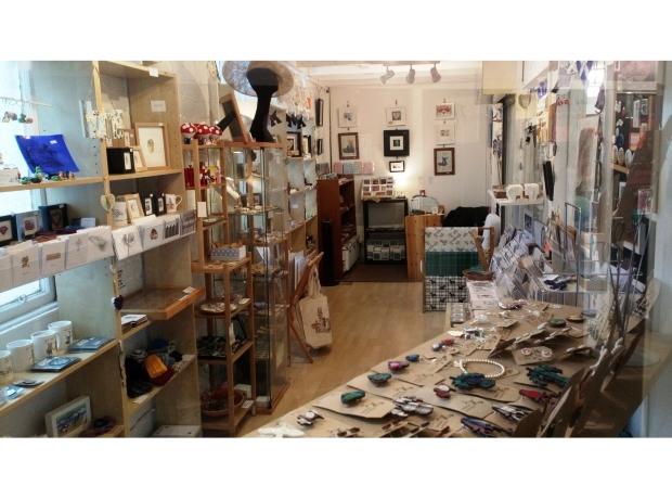 Janet & John shop interior