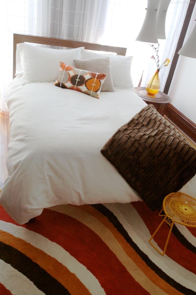"""Brooklyn brownstone interior design project: guest bedroom decor"""