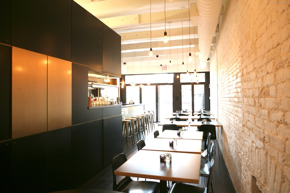 """Brooklyn restaurant design project: interior renovation and facade design"""