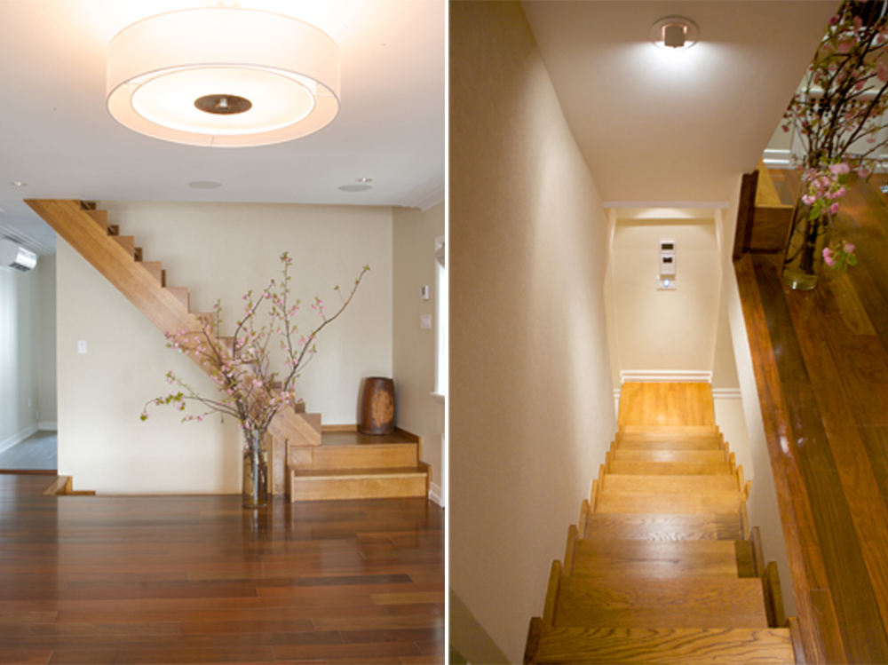 """Brooklyn interior design project: stair design"""