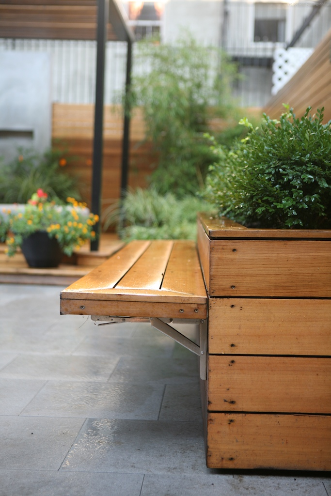"""Brooklyn landscape project with pergola design"""