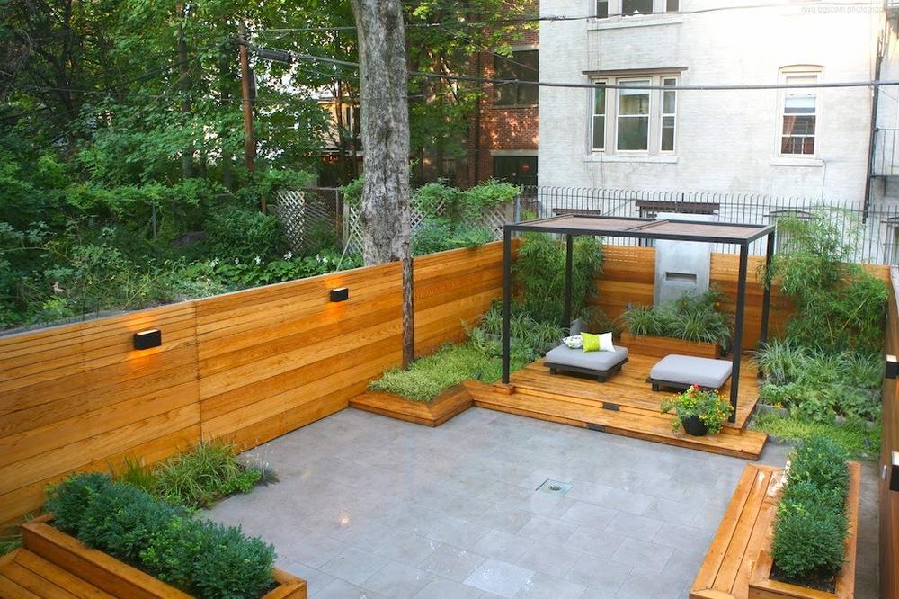 Zen backyard design by Ishka Designs.