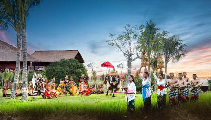 1. Dinner at Kampoeng Bali