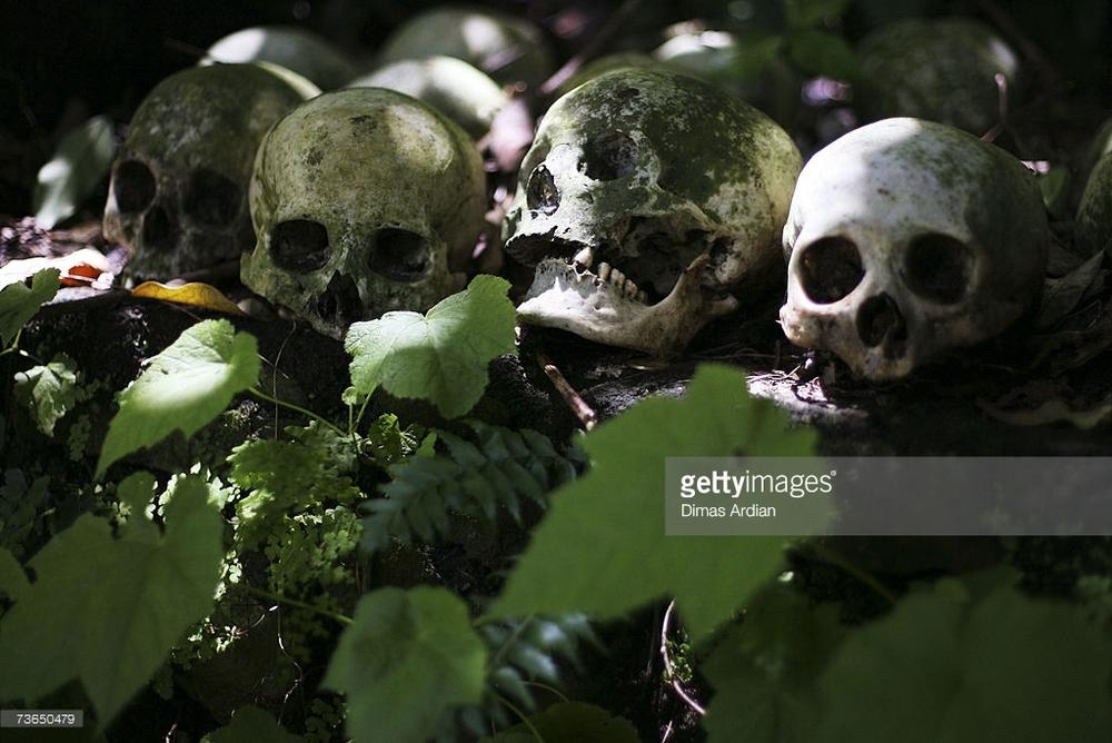 6. Dead People in village of Trunyan