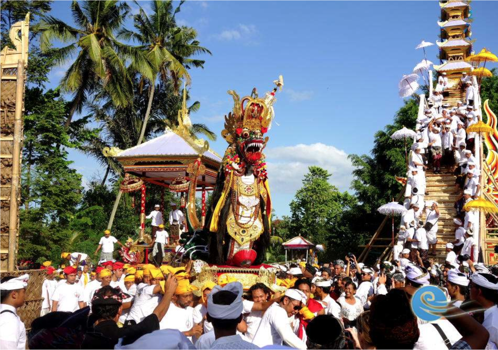 10. Ngaben ceremony