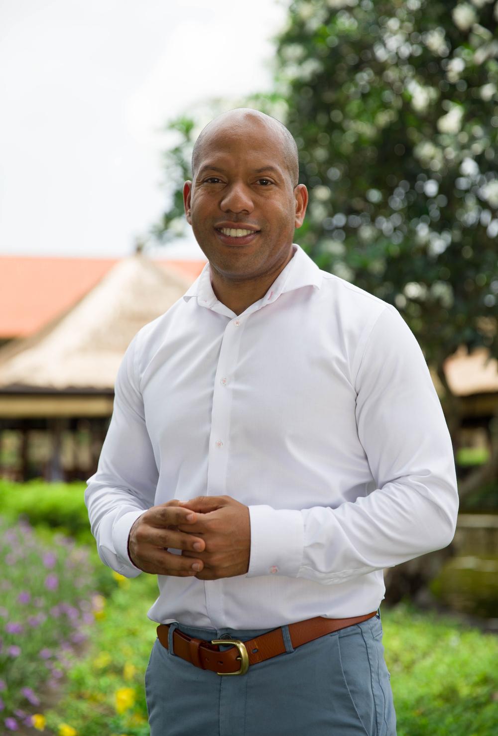 Clive Edwards, General Manager - The AYANA Resort & Spa, The Villas at AYANA and Rimba Jimbaran Hotel