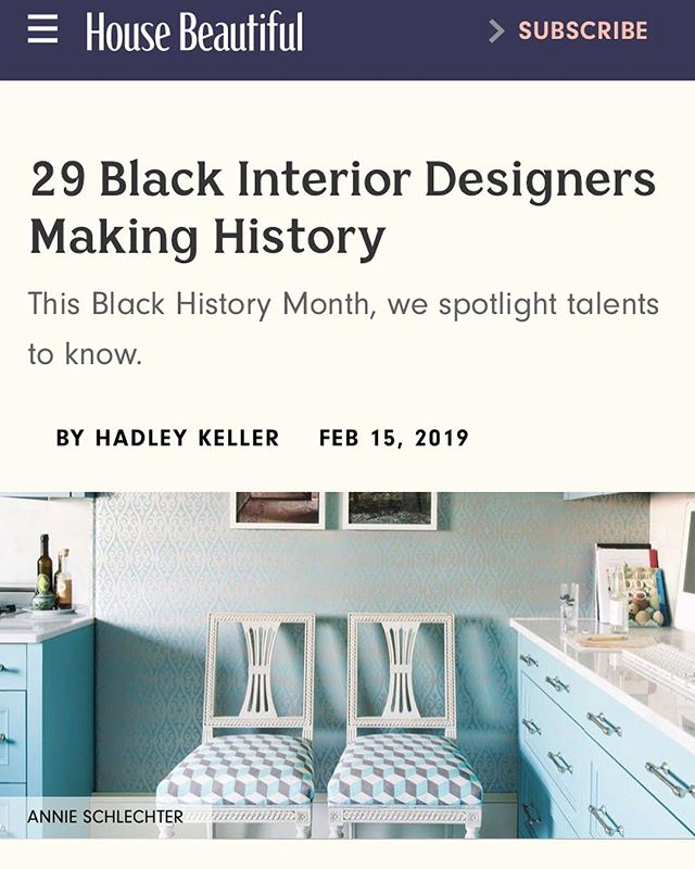 THE MINIMALISTS: Thanks @housebeautiful for recognizing 29 interior designers during Black History Month, including Ishka Designs. Happy to be amongst so many of our friends and colleagues who we love and respect. Only wish the month had way more days so we could highlight us all. Love and light @hadleykeller 🖤 . . . . Tagged as many as Instagram could allow in a photo. See all other amazing folks, including @mrserikaward @interiorista_baileyli @keitaturnerdesign @rio_hamilton  @saudahsaleeminteriors in link in bio . . . . #interiordesign #interiorinspiration  #interiors  #design  #deco  #interiorstyle  #interiorlovers  #interiorinspiration  #style  #minimal  #efficientlybeautiful  #simplicity #longevity #mindful #ishkadesignsinteriors  #brooklyndesigners  #interiordesigners