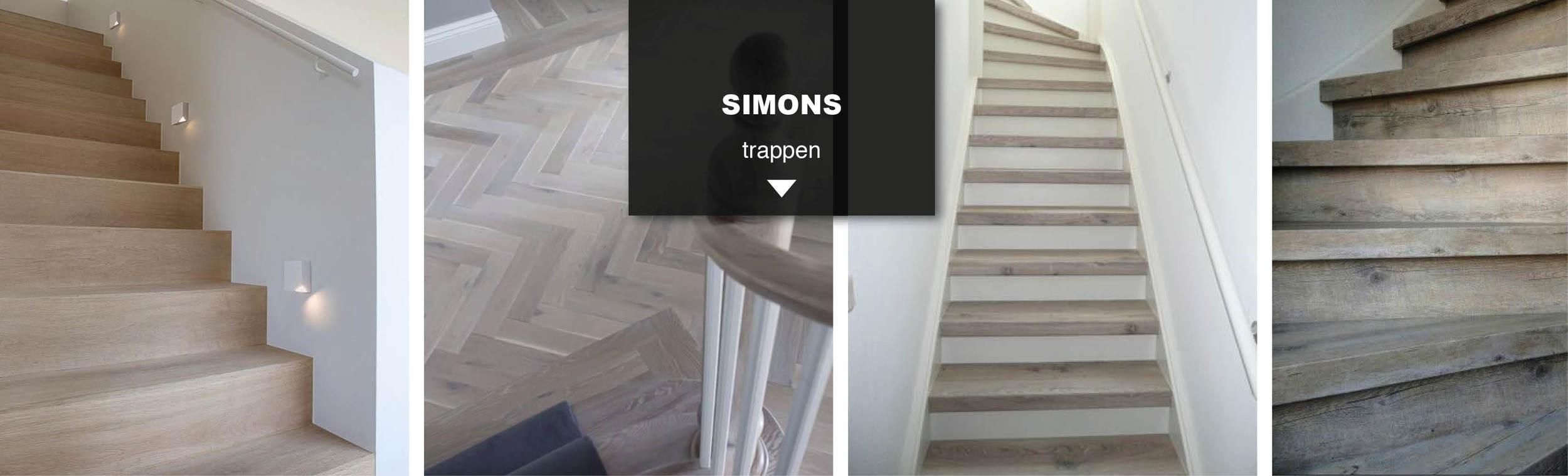 Extreem TRAPPEN — Simons vloer en wand DR22