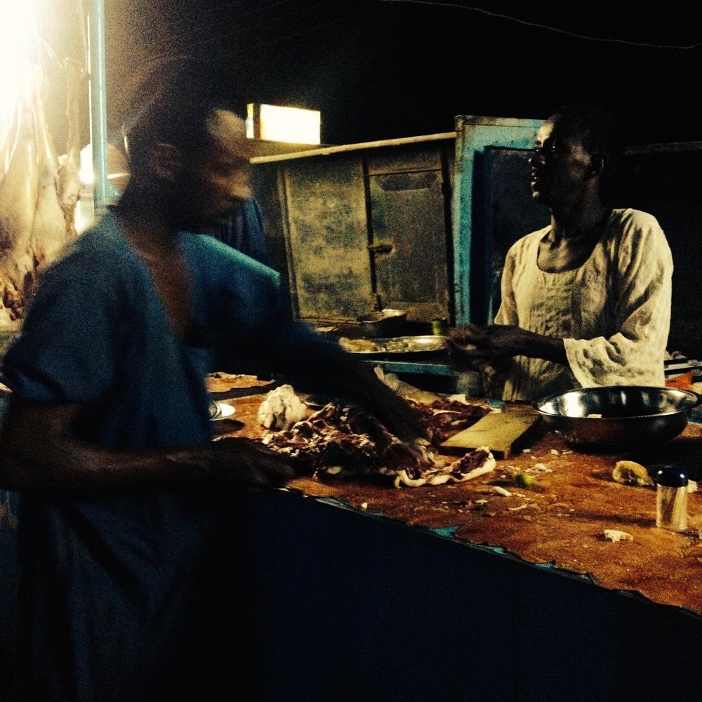 Street food, Kassala, Eastern Sudan