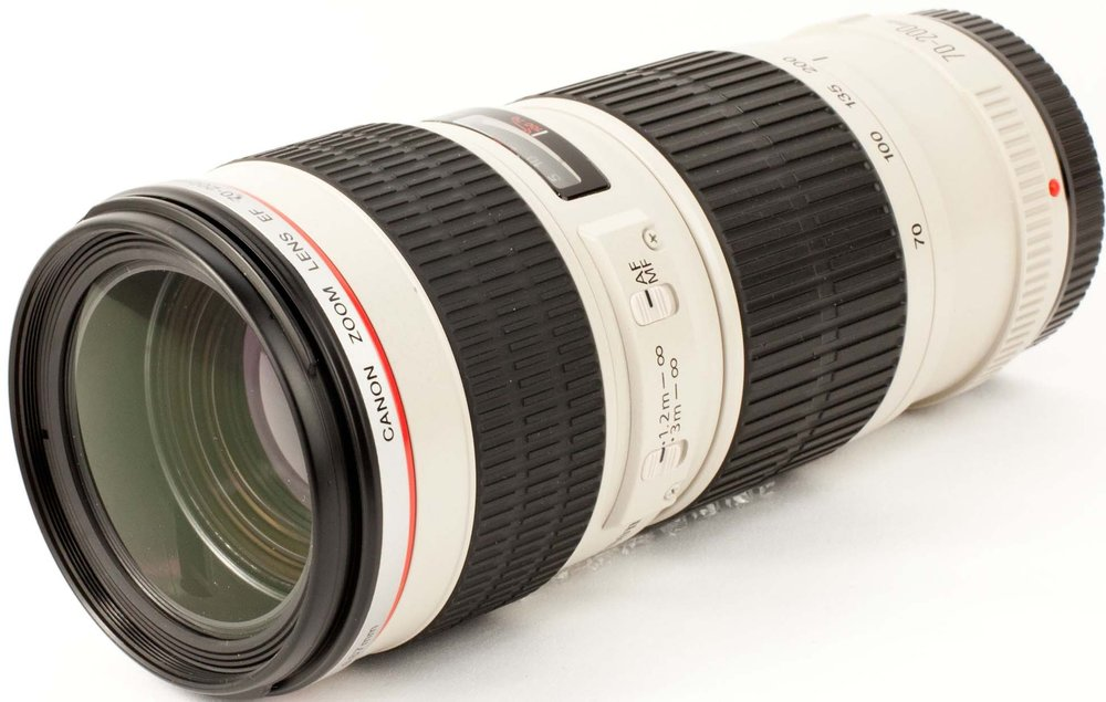 Canon USM 70-200mm | £15 per day