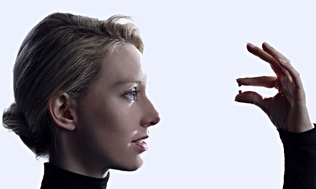 Theranos chairman, CEO and founder Elizabeth Holmes dropped out of Stanford at age 19.