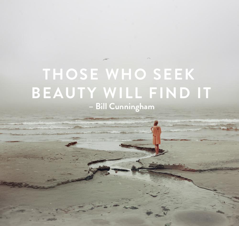 motivational monday - seek beauty
