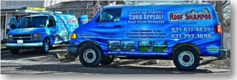 Roof Cleaning Van