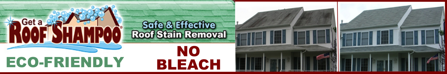 Roof Cleaning Business Roof Shampoo