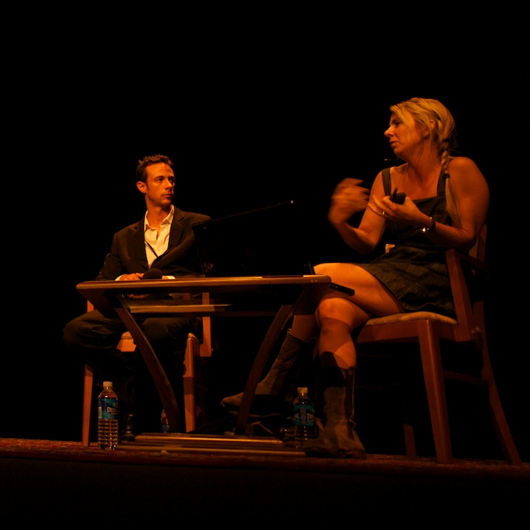Darius Himes & Julie Blackmon