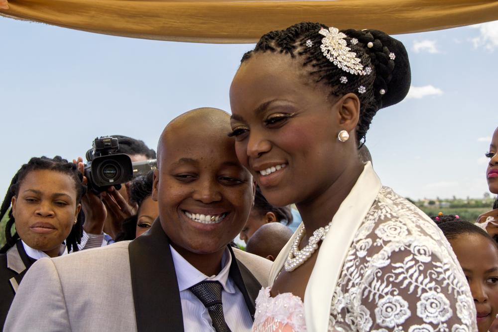 Ayanda & Nhlanhla Moremi's wedding I. Kwanele Park, Katlehong, 9 November 2013