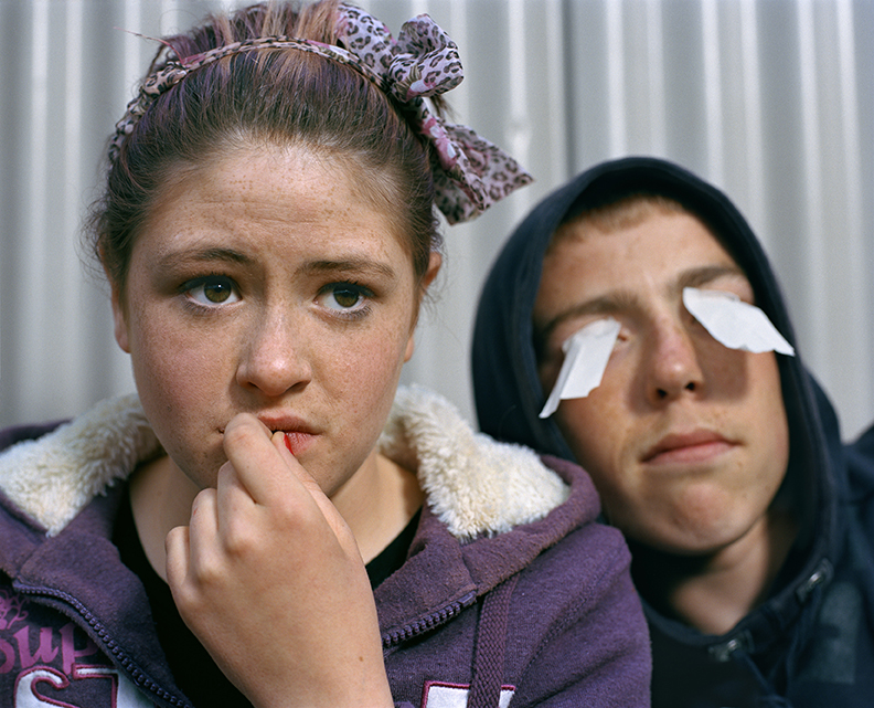Roisin and Jordan, Cobh, Ireland, 2011 © Doug DuBois