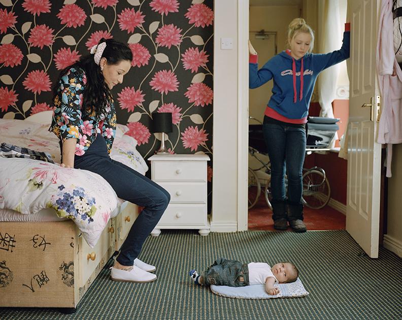 Shauna's new baby, Cobh, Ireland, 2012 © Doug DuBois