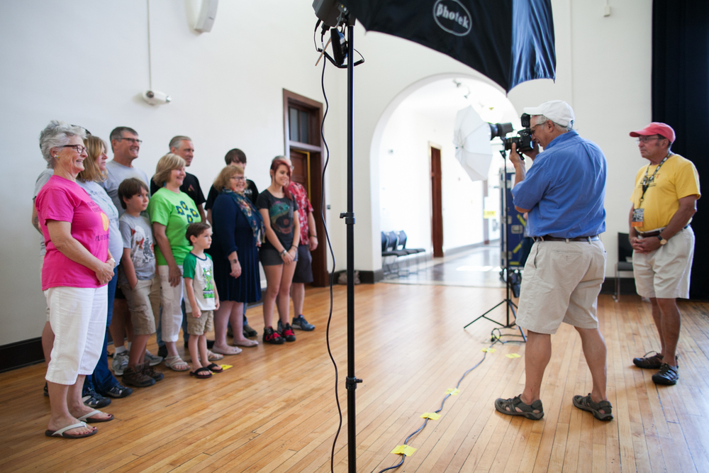 Family Photo Day at the JSAAHC. Photo © Tom Daly