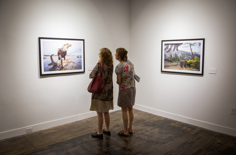 Joe Riis exhibition  Photo © Brian Lewis