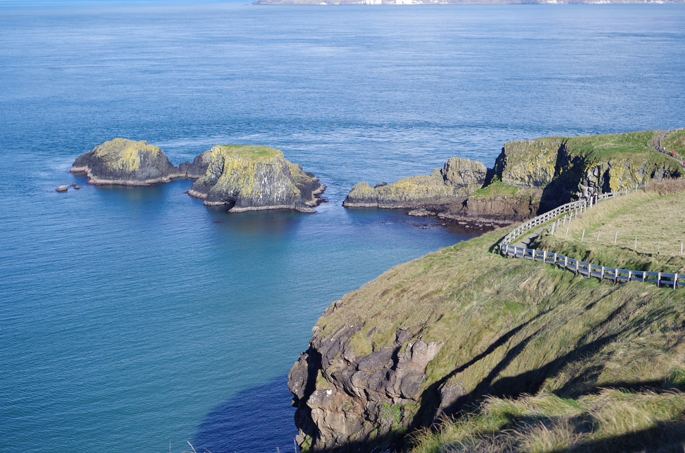 Islands near Carrick-a-rede