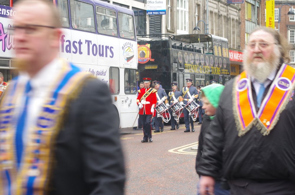 Parade in Belfast