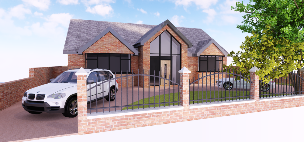 St Andrews Road, Crosby - Our latest scheme takes us to a proposed new dwelling for a private client in Crosby. The scheme includes the demolition of the existing bungalow and creation of a new bespoke 4 bed home..