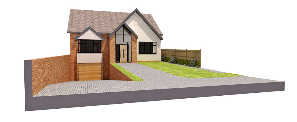 Shore Road, Ainsdale - The scheme includes the demolition of the existing triple garage  and creation of a new bespoke 4 bed home with underground basement car parking area.