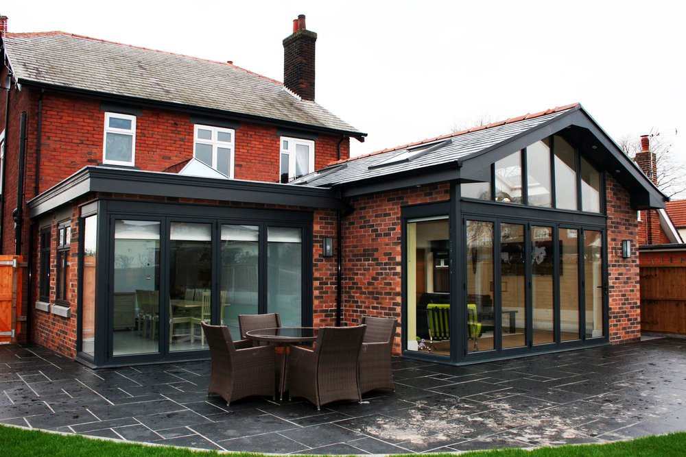 REAR EXTENSION - SOUTHPORT ROAD, LYDIATE
