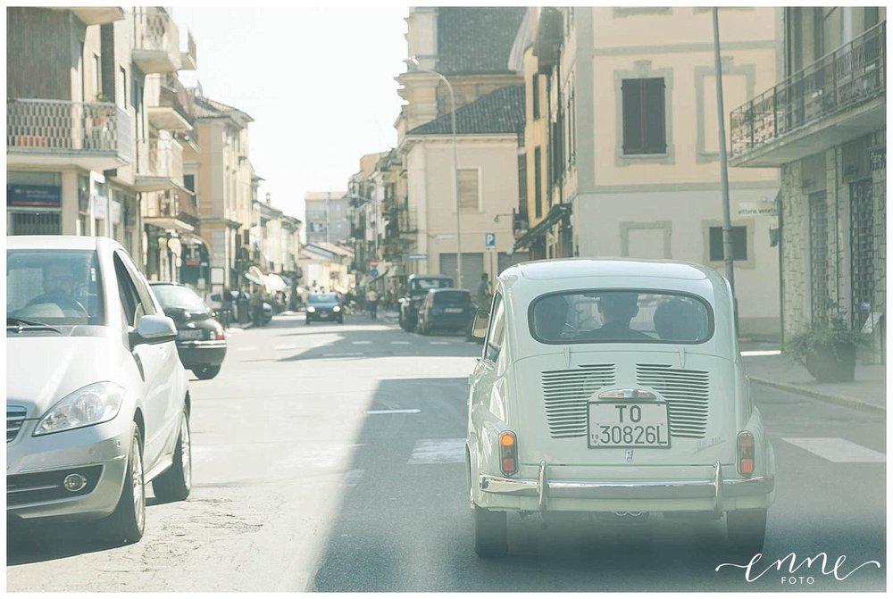 Auto dello sposo