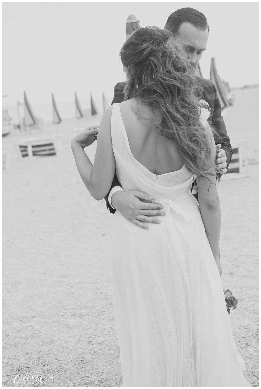 sposi e spiaggia