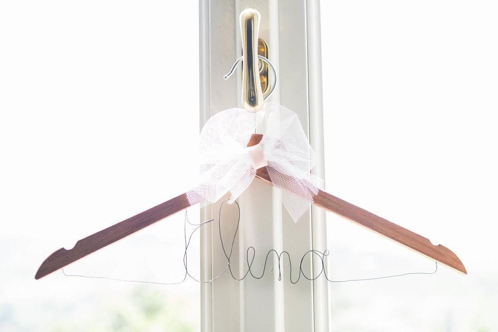 Appendino abito sposa
