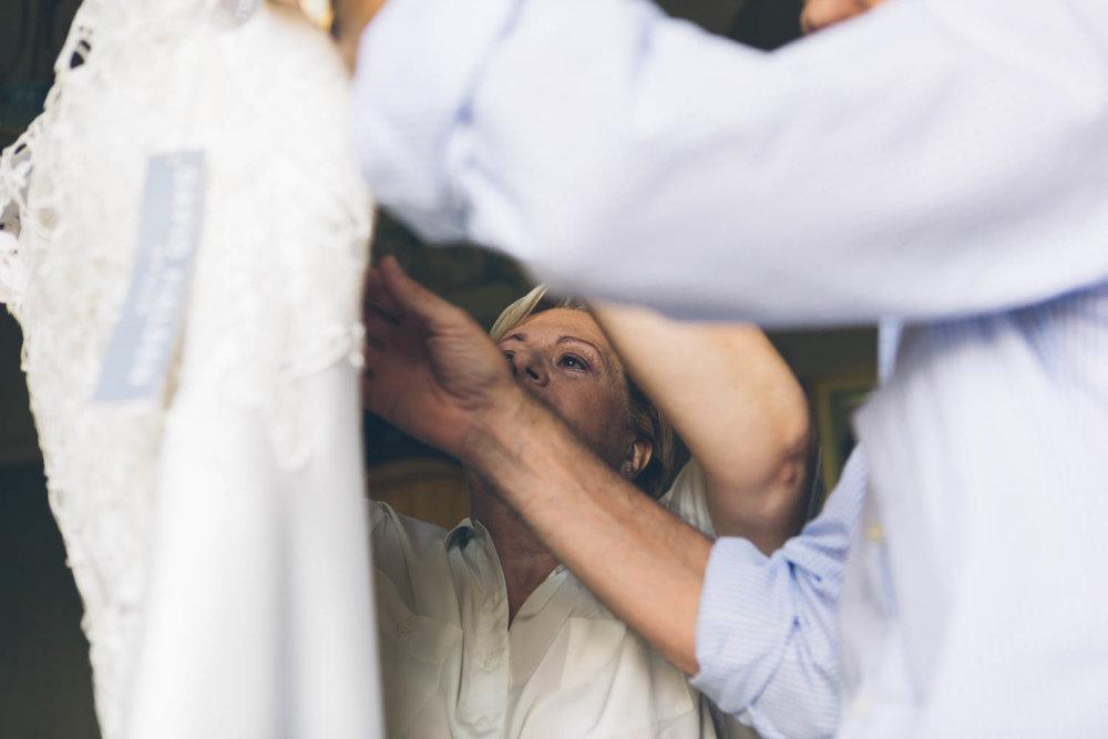 Madre sposa con abito
