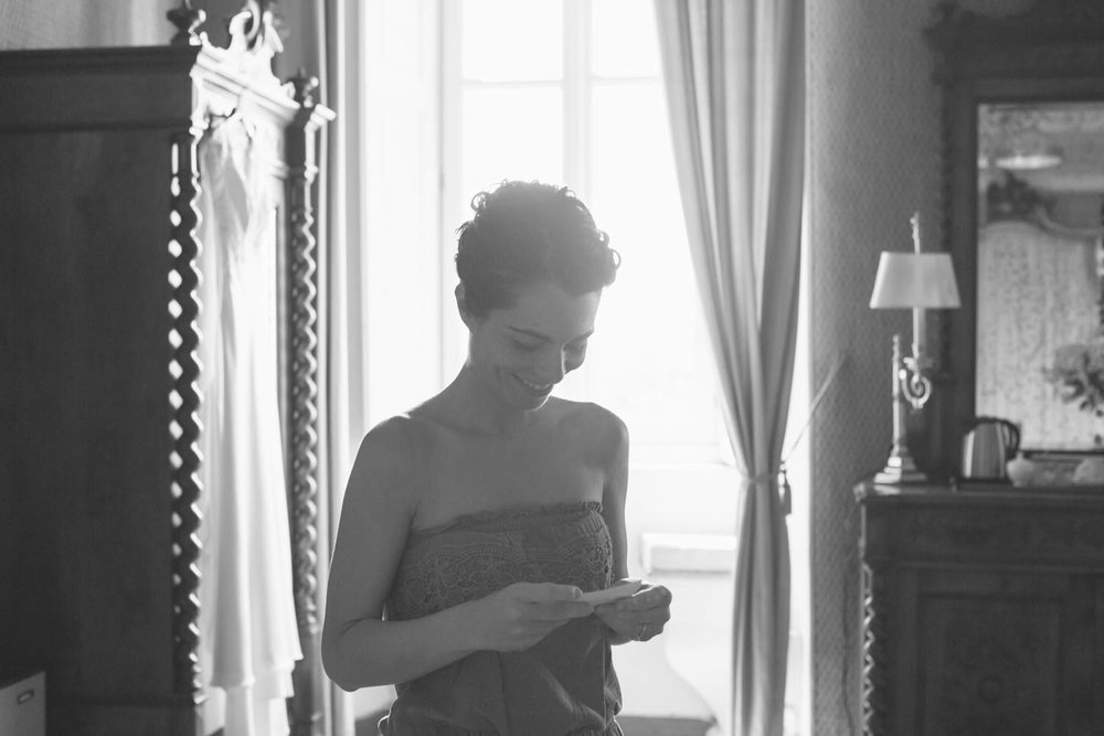 Sposa e lettera