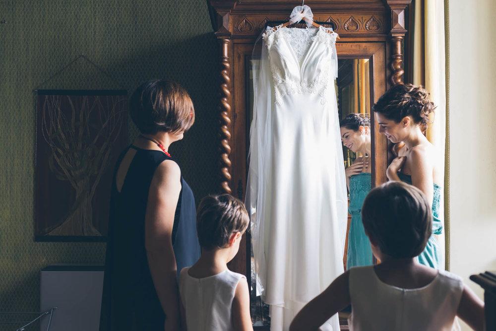 Vestito sposa e damigelle