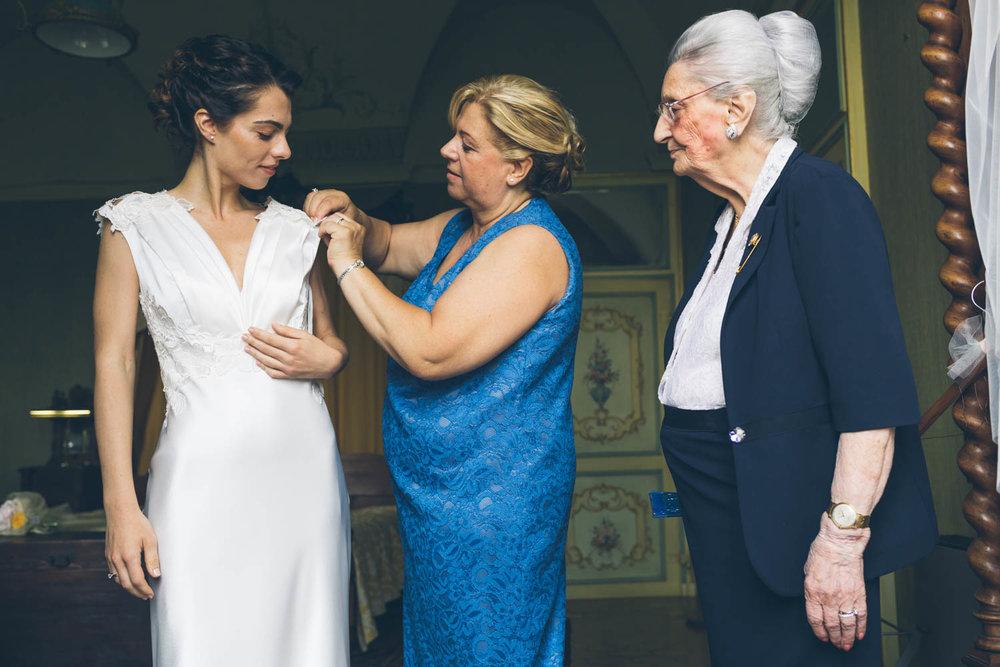 Sposa, mamma e nonna
