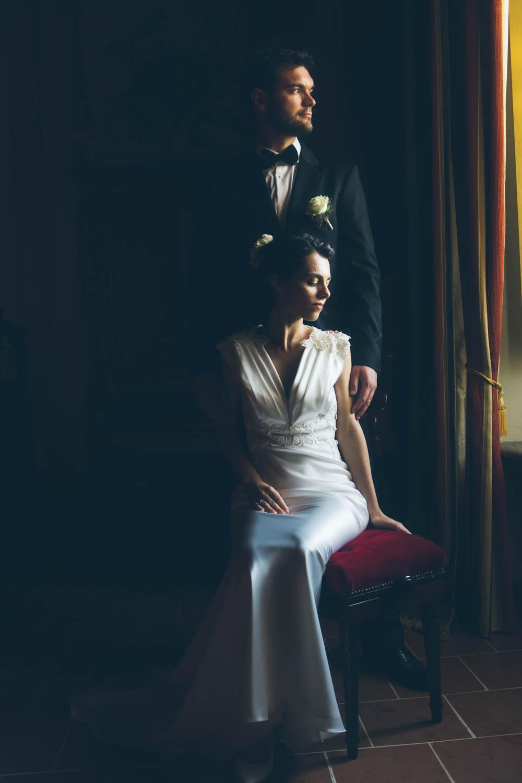 Sposi finestra
