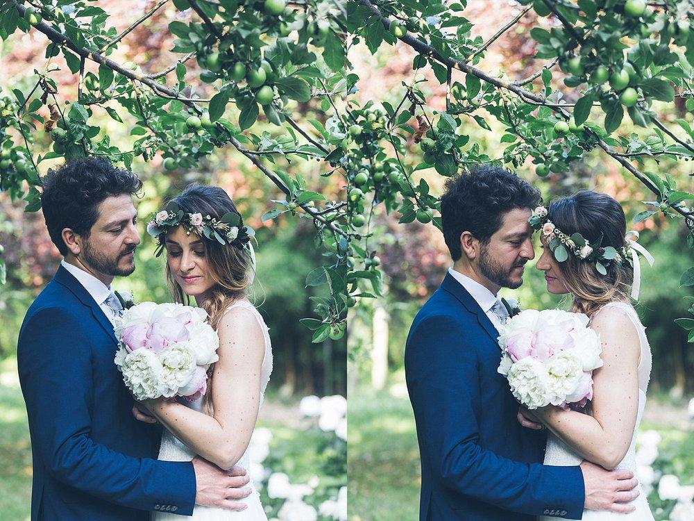 Ritratto sposi colori