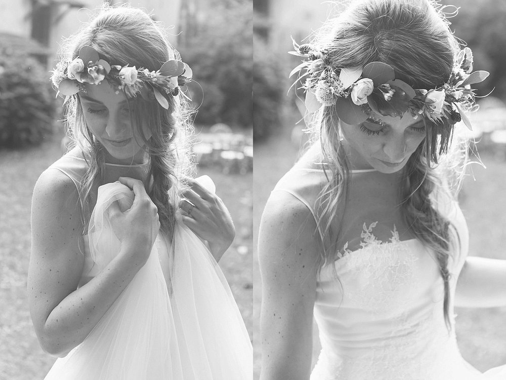 Sposa bianco nero