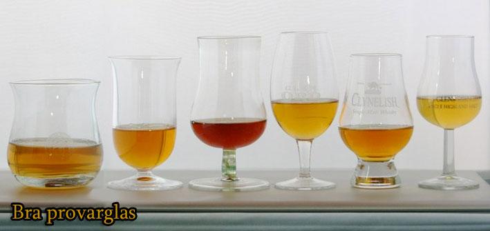 Välj det whiskyprovarglas som passar din typ av whisky, efter känsla och humör!
