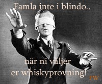 blindprovning, whisky