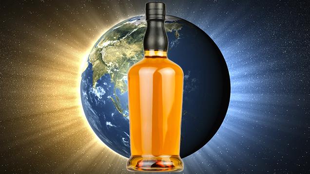 Whisky lagrad i rymden!