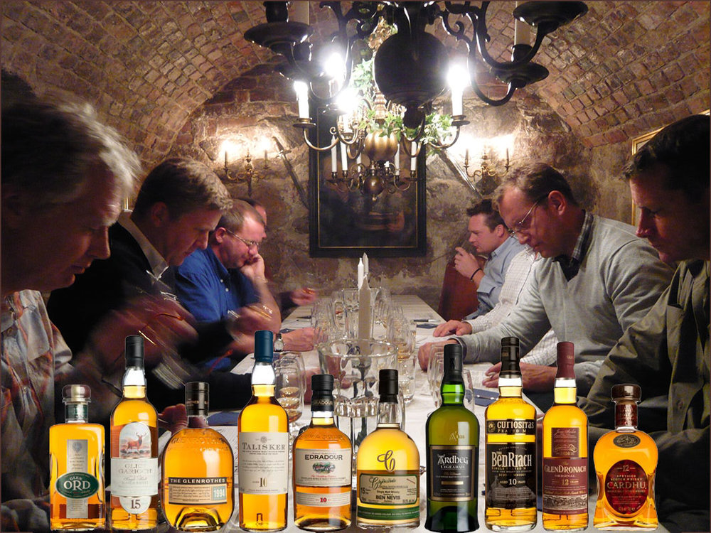 Whiskyprovning för två och flera i Stockholm.